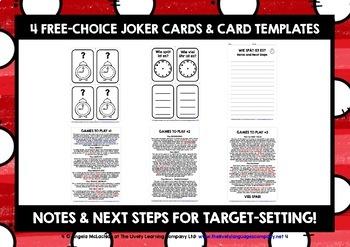 GERMAN TIME GAMES CARDS & WORKBOOK O'CLOCK & HALF PAST