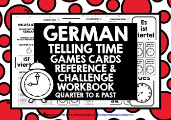 ELEMENTARY GERMAN TIME QUARTER TO & PAST