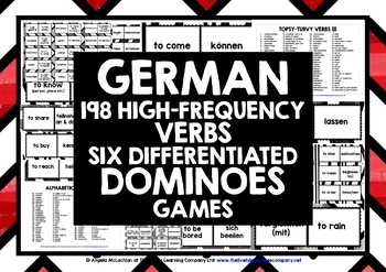 GERMAN VERBS DOMINOES GAMES