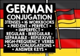GERMAN VERBS CONJUGATION BUNDLE #1