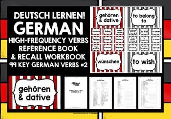 GERMAN VERBS (2) - PRACTICE & REVISION - 99 VERBS