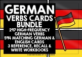 GERMAN VERBS CARDS BUNDLE