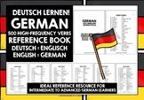 GERMAN VERBS REFERENCE GERMAN-ENGLISH & ENGLISH-GERMAN 500 VERBS