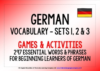 GERMAN VOCABULARY 297 WORDS & PHRASES PRACTICE & REVISION