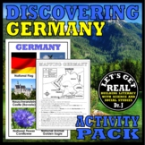GERMANY: Discovering Germany Activity Pack