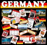 GERMANY TEACHING RESOURCES -GEOGRAPHY GERMAN LANGUAGE CULT