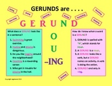 GERUNDS are NOUNS