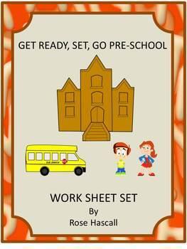 Back to School Preschool Kindergarten Math & Literacy Cent