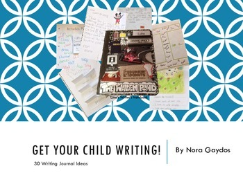 GET YOUR CHILD WRITING!