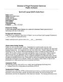 Speech Therapy-GFTA-3-Goldman Fristoe Test of Articulation- TEMPLATES