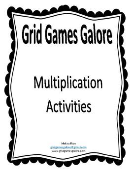 GGG Classroom Multiplication Activities