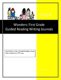 GUIDED WRITING JOURNALS for Wonders Unit 4: First Grade