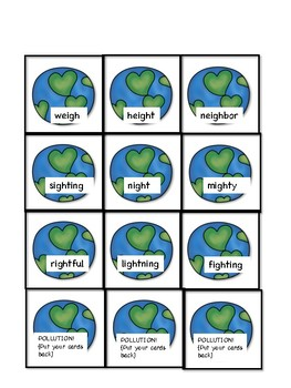 GH Word Earth Day Game