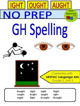 GH Words - Spelling