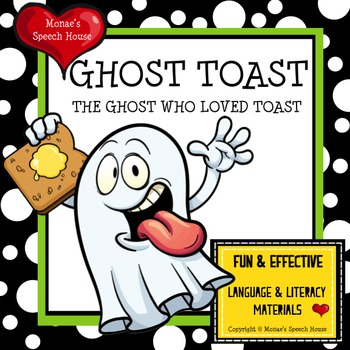 GHOST READING SPEECH THERAPY AAC Preschool Language