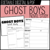 GHOST BOYS novel study - Jewell Parker Rhodes