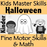 Halloween Fine Motor and Math Counting Activity - GHOST BUSTERS!