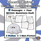 Ghost Reading Passage, Halloween Passages, Ghost Reading Comprehension, Ghosts