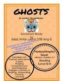 GHOSTS by Raina Telgemeier Literature Unit