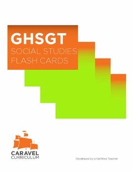 GHSGT Social Studies Flash Cards
