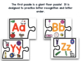 GIANT ABC Floor Puzzle And Beginning Sound Puzzles!  A Common Core Creation!