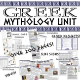 GIANT Greek Mythology Unit