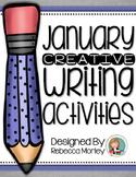 January Creative Writing Activities