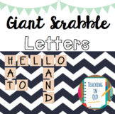 GIANT Letters for Scrabble [Colour and BW] #luckydeals