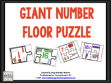 GIANT Number Puzzle And Counting Puzzles!  A Numbers And Counting Creation!