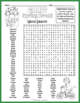 GIANT Spring Break Word Search Puzzle