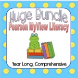My View literacy Pearson 1st Grade * GIANT bundle *ALL YOU NEED*