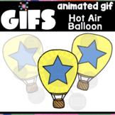 Hot Air Balloon GIF | Animated Clipart