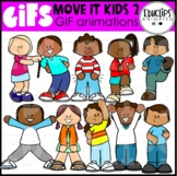 GIF - Move It Kids 2 Animated Images - {Educlips}