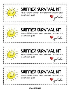 GIFT Summer Survival Kit for Students