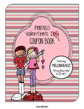 gift valentines day coupon book melonheadz clip art - Valentines Day Coupon Book