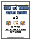 GIFTED AND TALENTED PROBLEM SOLVING #2