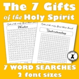 GIFTS OF THE HOLY SPIRIT 7 Word Searches