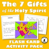 GIFTS OF THE HOLY SPIRIT FLASH CARD ACTIVITIES