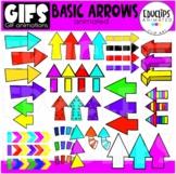 GIFs - Basic Arrows - Animated Images - {Educlips}