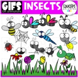GIFs - INSECTS - Animated Images - {Educlips}