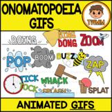 GIFs - Onomatopoeia Comic Book Words - Animated Digital Cl