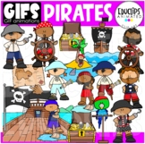 GIFs - PIRATES - Animated Images - {Educlips}