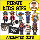 GIFs l Pirate Kids - Animated Digital Clipart Images l TWMM