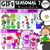 GIFs - Seasonal 2 - Animated Images - {Educlips}