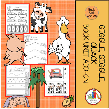GIGGLE, GIGGLE, QUACK  BOOK UNIT ADD-ON