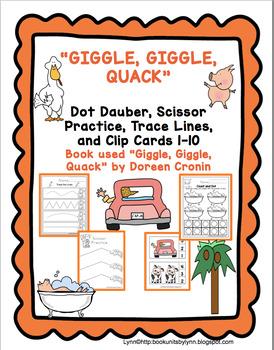 GIGGLE, GIGGLE, QUACK  BOOK UNIT ADD-ON