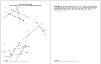 GIIIa: Parallel Lines and Angles