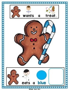 GINGERBREAD-ADAPTED BOOK (Autism/Special Ed/ELL)