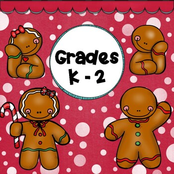 GINGERBREAD:  Activity Packet