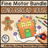 GINGERBREAD HOUSE Fine Motor Activity Set